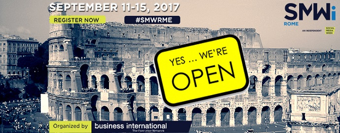 social media week rome header