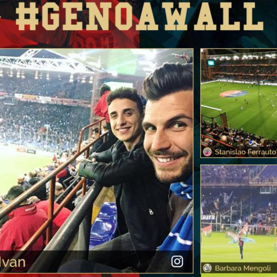 GENOAWALL social wall