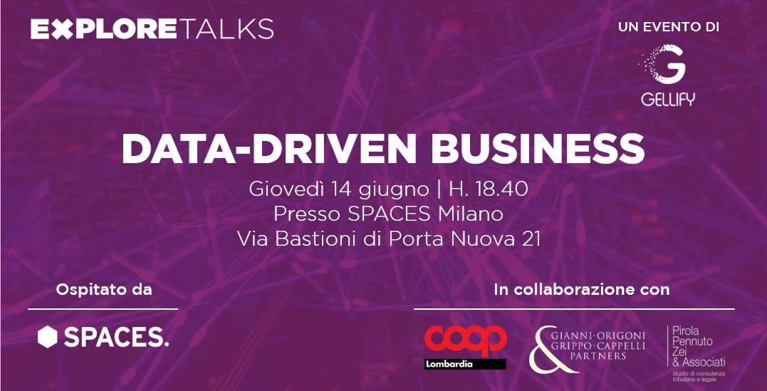 Datalytics interviene ad Explore Talks