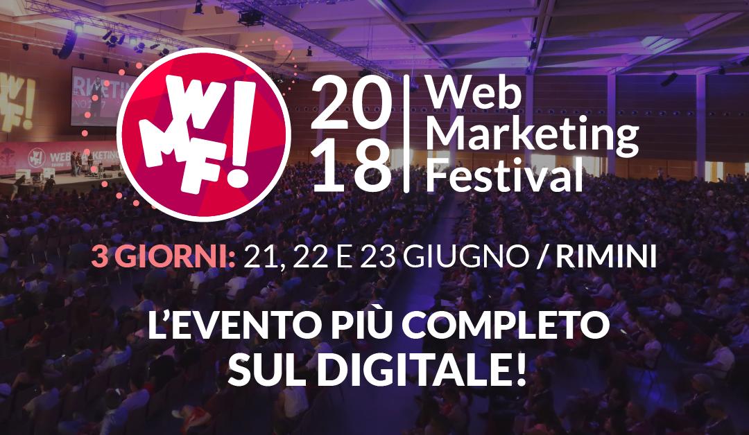 Datalytics torna al Web Marketing Festival 2018