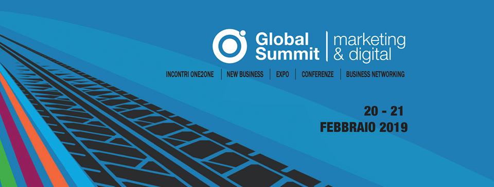 Appuntamento al Global Summit Marketing & Digital 2019