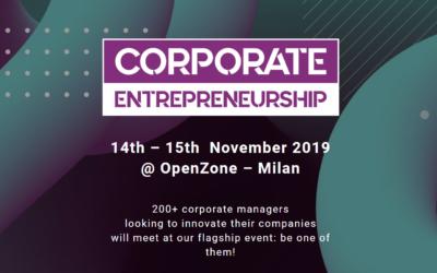 Datalytics all'evento Explore Talks – Corporate Entrepreneurship