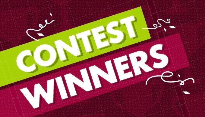 contest winners header