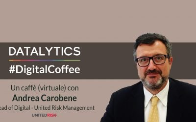 #DigitalCoffee, un caffè (virtuale) con Andrea Carobene – Head of Digital United Risk Management