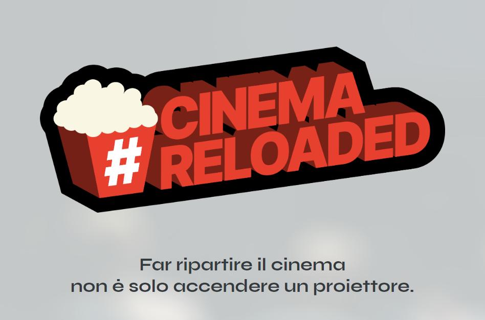Cinema Reloaded – la campagna digitale per la ripartenza delle sale italiane