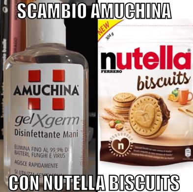 meme amuchina vs nutella biscuits