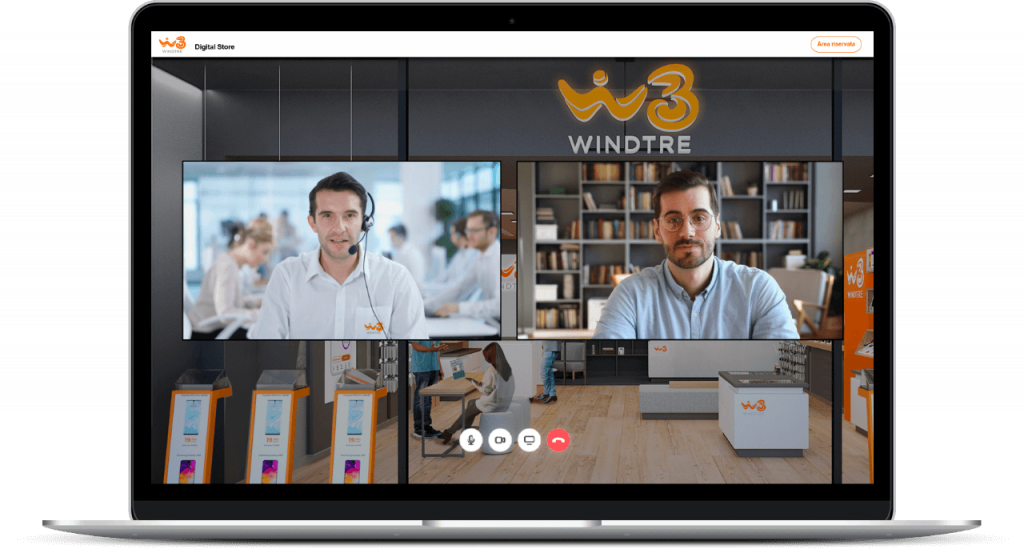 Digital Economy News: WindTre digital store