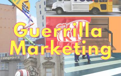 #SMMTIPS: Guerrilla Marketing, campagne sensazionali