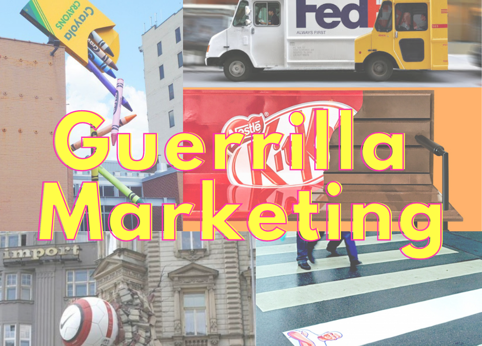 #SMMTIPS: Guerrilla Marketing, campagne sensazionali