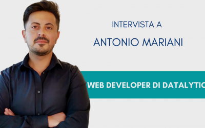 #ConosciDatalytics: Antonio Mariani, sviluppatore software