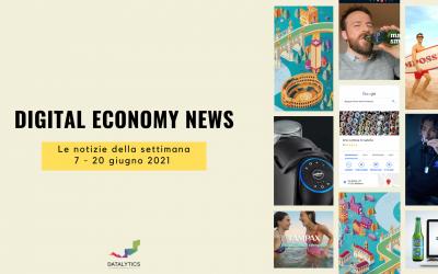 Digital Economy News: le notizie della settimana